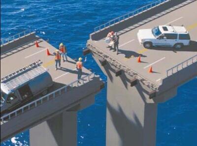 Bridge misplan