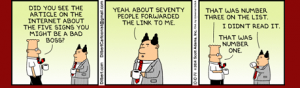 Dilbert - leadership