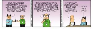 Dilbert - bullshit baffles brains