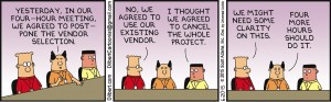 Dilbert 4 hour meeting