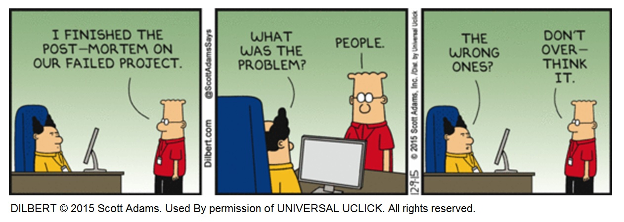 Dilbert - project people