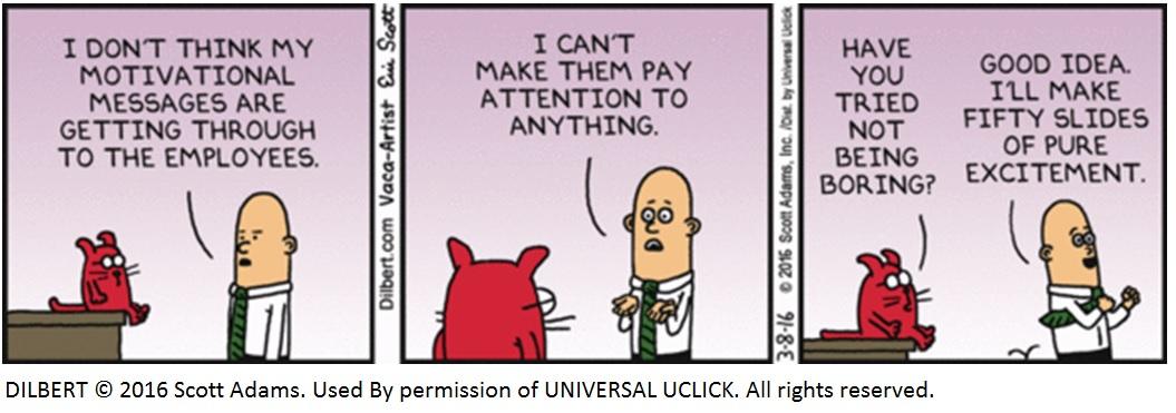 Dilbert - motivation